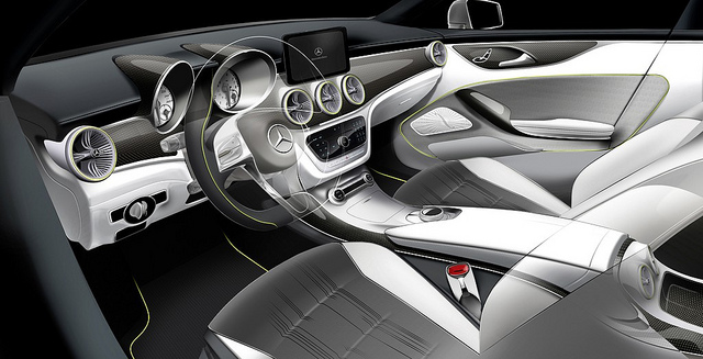 Mercedes-Benz Concept Style Coupé Dashboard
