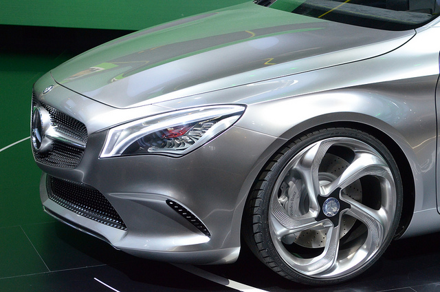Mercedes Concept Style Coupe Turbine Wheels