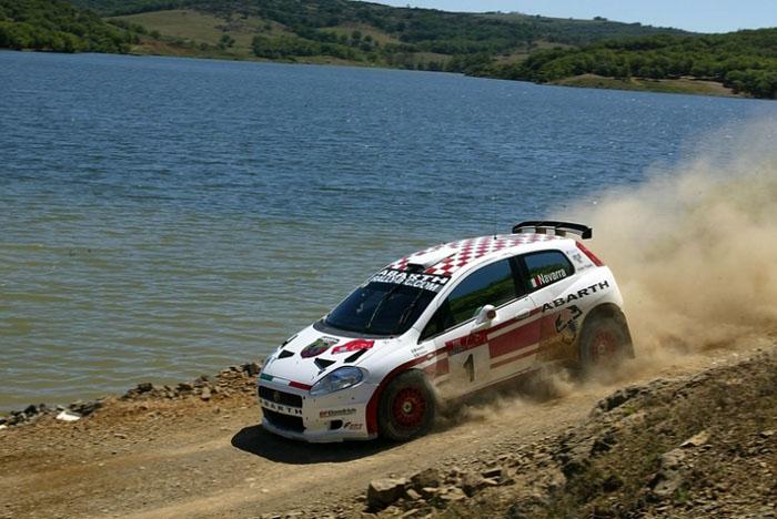 Fiat Punto Abarth Rally Car