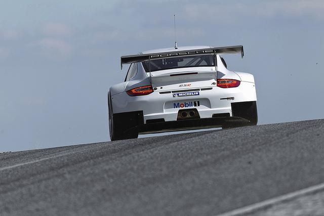 Porsche 911 GT3 RSR Back View