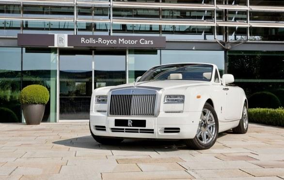 Rolls-Royce Phantom Drophead Coupé Series London 2012