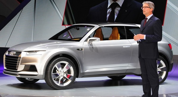 2012 Audi Crosslane Coupe Concept Xxi Century Cars