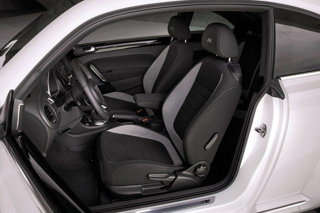 Volkswagen Beetle front seats