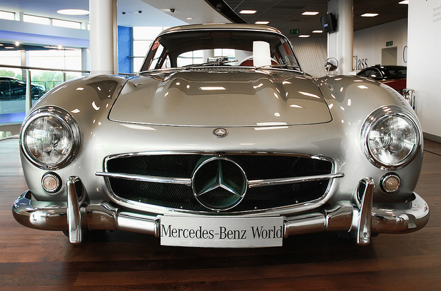 Mercedes Benz 300SL Gull Wing