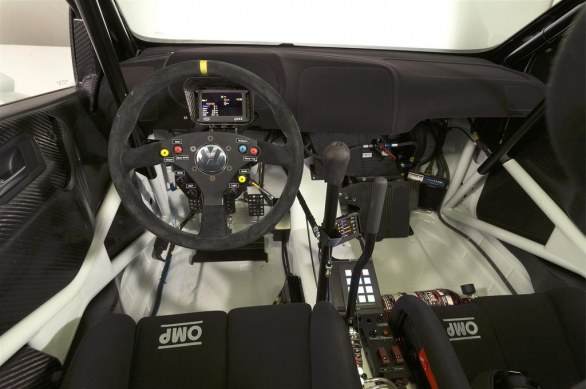 Volkswagen Polo R WRC Interior