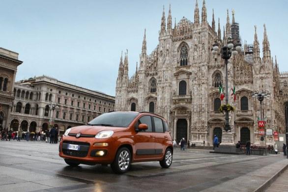 Fiat Panda Front View