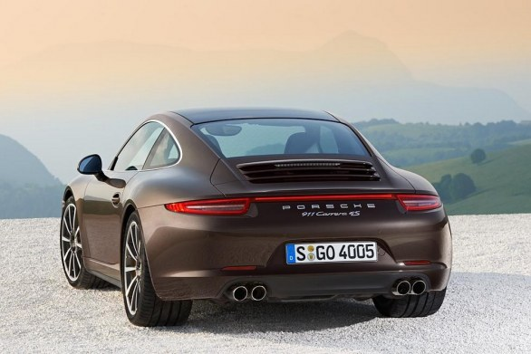 Porsche 911 Carrera 4 Rear View