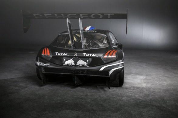 Peugeot 208 T16 Rear View