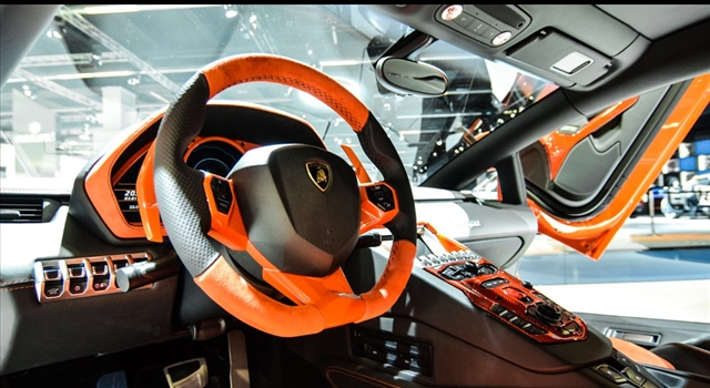 Lamborghini Aventador Nervudo by Hamann Dashboard