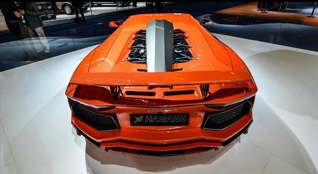 Lamborghini Aventador Nervudo by Hamann Engine