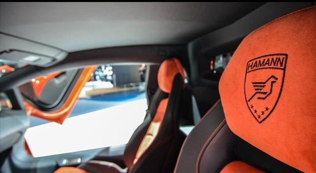 Lamborghini Aventador Nervudo by Hamann Interior