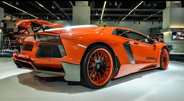 Lamborghini Aventador Nervudo by Hamann Wheels