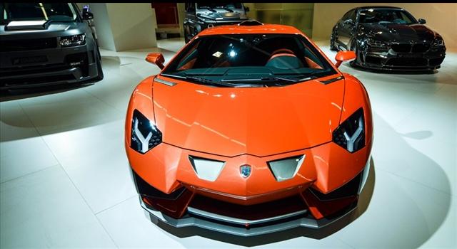 Lamborghini Aventador Nervudo by Hamann