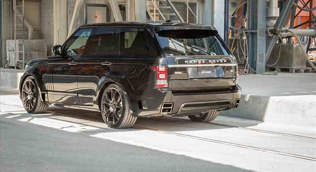 Range Rover Noreia by FAB Design Rear View