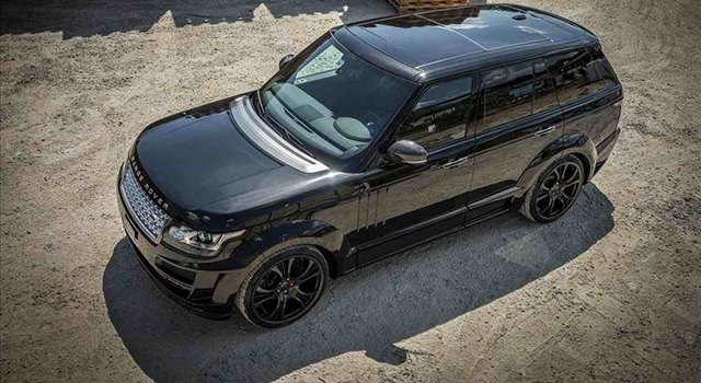 Range Rover Noreia by FAB Design Top View