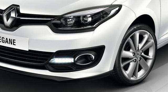Renault Megane Front View