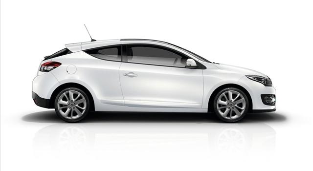Renault Megane Side View