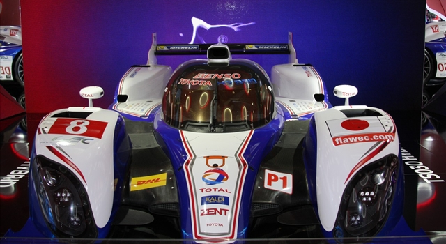Toyota TS030 Hybrid Front View