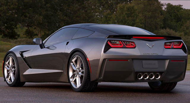 Corvette Stingray AeroWagon rear view