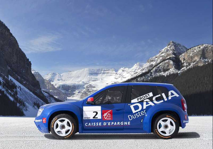 Dacia Duster Ice Rally Car