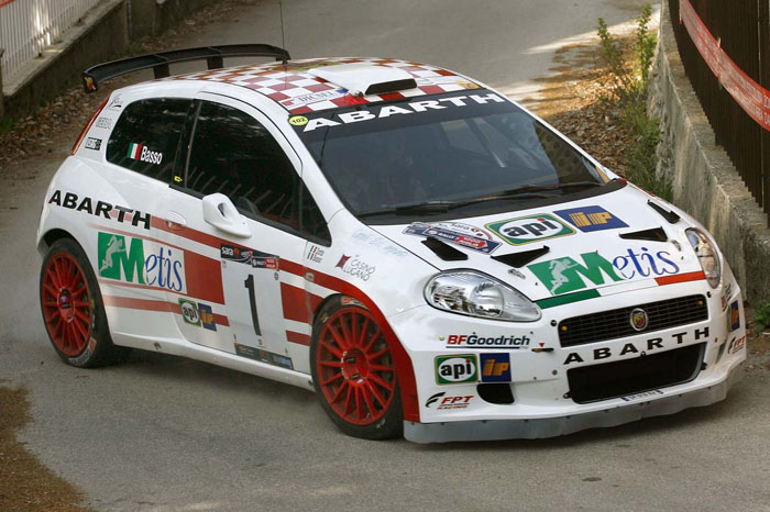 Fiat Punto Abarth Rally Car