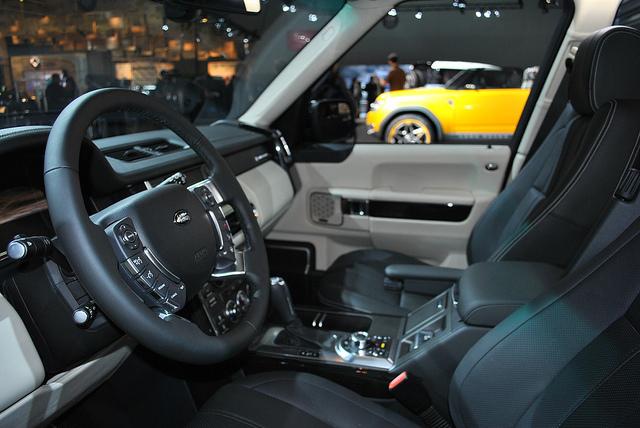 LandRover DC100 Sport SUV Interior