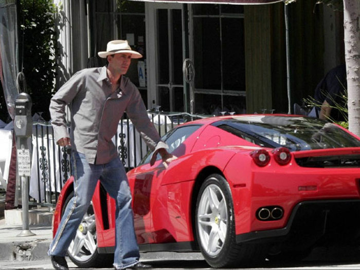 Nicolas Cage and his Ferrari Enzo