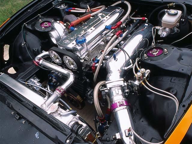 Toyota Supra 2011 Engine