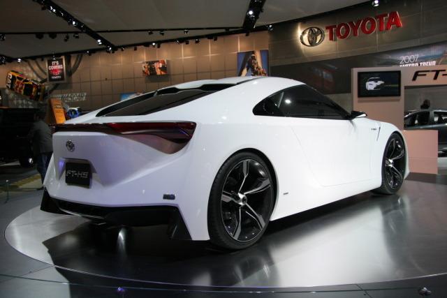 Toyota Supra 2011 Rear view