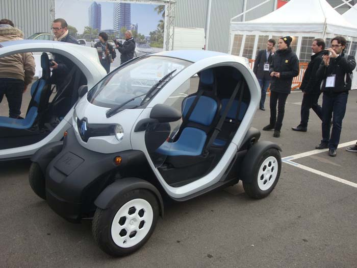 Renault Twizy at Bologna Motor Show 2011