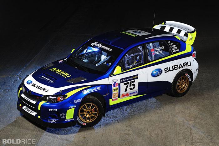 Subaru Impreza Rally Car