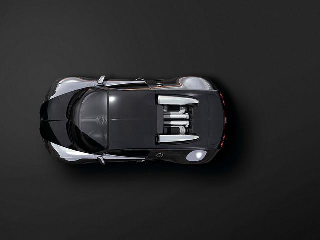 Bugatti EB 16-4 Veyron Top View