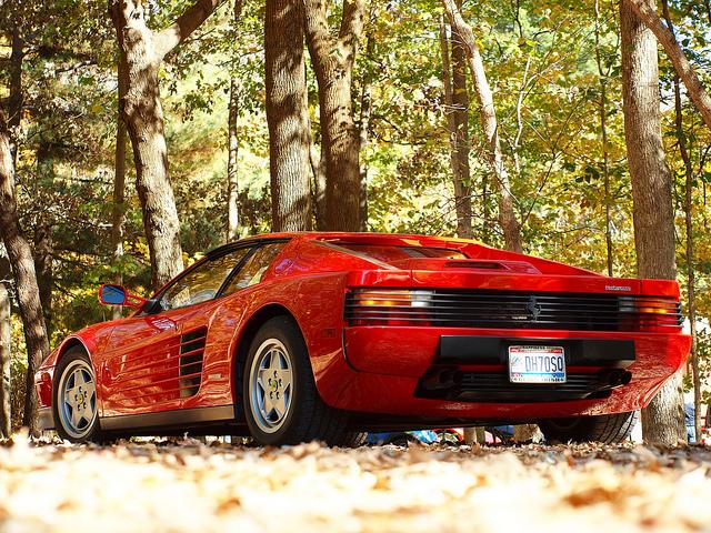 Ferrari Testarossa Good Angle