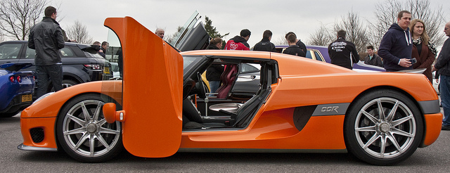 Koenigsegg CCR Side View