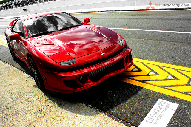Mitsubishi 3000gt vr4 front view