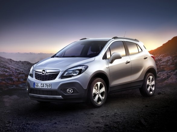 Opel Mocha Front View