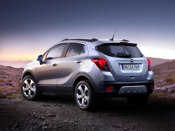 Opel Mocha Rear View