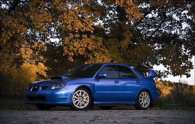 Subaru Impreza Side View