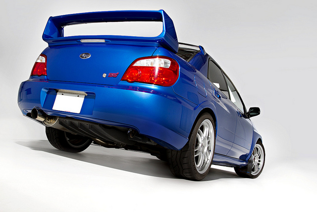 Subaru Impreza WRX  Rear View