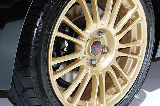 Subaru Impreza WRX Wheel