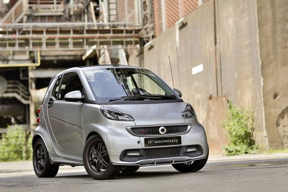 Smart Brabus front view