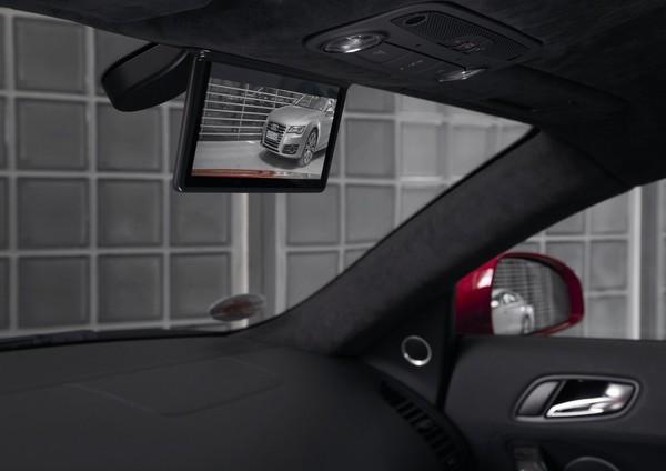 Digital rear view mirror