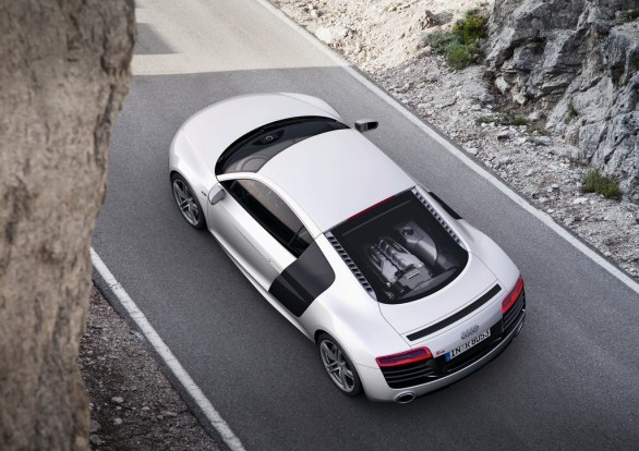 Audi R8 Coupé from above