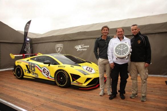 Lamborghini Gallardo LP 570-4 Super Trofeo Presentation
