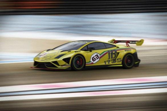 Lamborghini Gallardo LP 570-4 Super Trofeo Side View