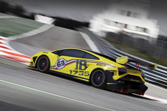 Lamborghini Gallardo LP 570-4 Super Trofeo,