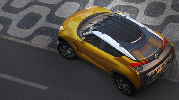 Nissan Extrem from above