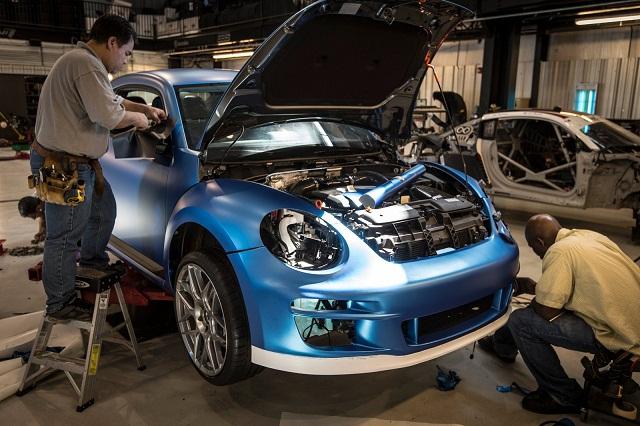Volkswagen Super Beetle engine