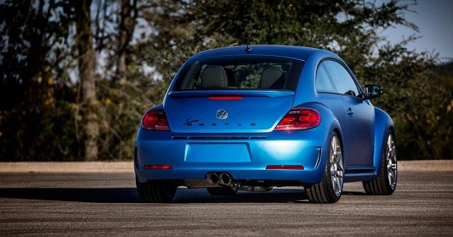 Volkswagen Super Beetle rear