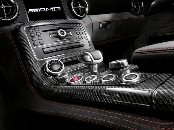 Mercedes SLS AMG Coupé Dashboard
